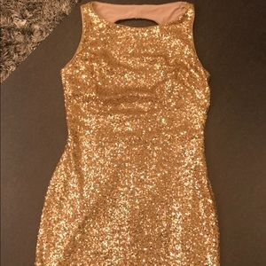 Gold Ralph Lauren Dress